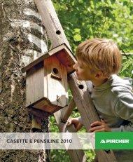 CASETTE E PENSILINE 2010 - Per-tre.it