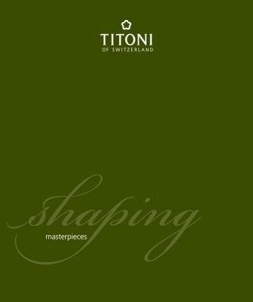 Consumer Catalogue (PDF) - Titoni