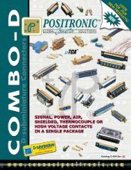 Catalog C-004 Rev. E2 - Positronic Industries Inc