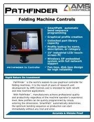 Folding Machine Controls - Thalmann AG