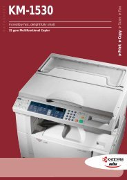 Print Copy Scan Fax KM-1530 - KYOCERA Document Solutions