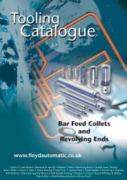 Barfeed Collets - Floyd Automatic Tooling Ltd
