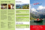 Berghotel Trübsee Trübsee Alpine Lodge Room prices Trübsee - Titlis