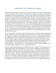 Allan Holtz 2011 Barkley Race Report - low res pic - Matt Mahoney's ...