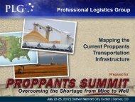 to see Graham Brisben's slides. - Professional Logistics Group
