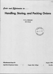 Handling, Storing, and Packing Onions