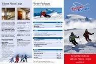 Trübsee Alpine Lodge Winter-Packages Berghotel Trübsee ... - Titlis