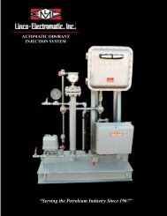 Automatic Odorant Injection System - Natcoparts