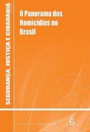 Panorama dos Homicídios no Brasil - CDSA / UFCG / Campus de ...