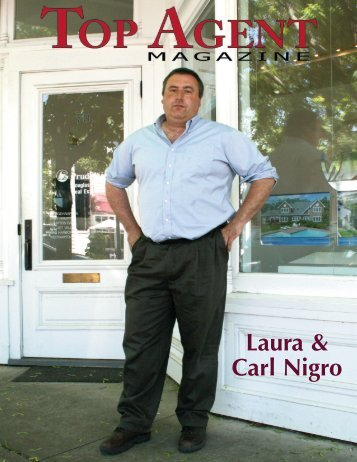 Laura & Carl Nigro - Top Agent Magazine