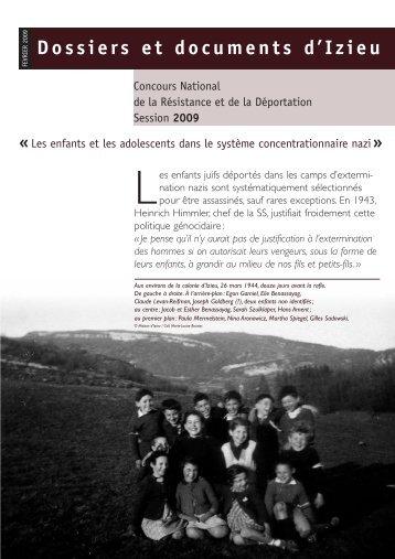 IZ Lettre - Maison d'Izieu