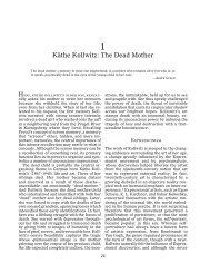 Käthe Kollwitz: The Dead Mother - International Psychoanalysis