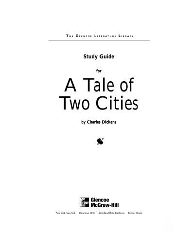 A tale of two cities homework help