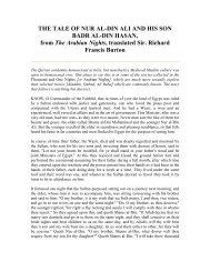 THE TALE OF NUR AL-DIN ALI AND HIS SON ... - Teachislam.com