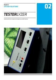 TesterLyzer / RUETZ SYSTEM SOLUTIONS