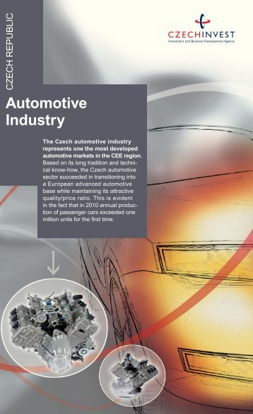 Automotive Industry Leaflet - CzechInvest
