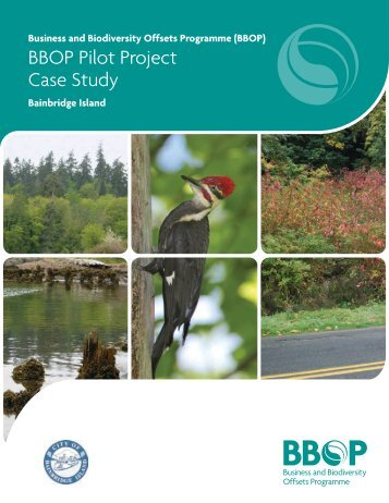 Case studies in the conservation of biodiversity ...