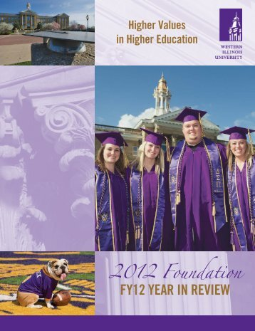 Foundation Year in Review - Western Illinois University