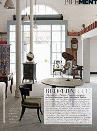Vogue Living September 2010 - Thomas Hamel