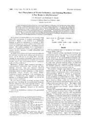 Sml Phenylation of Nitrile Carbanions, and Ensuing Reactions. A ...