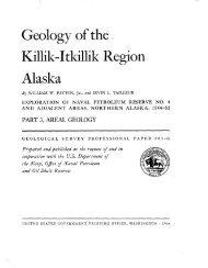 Geology of the Killi k-I tkilli k Region Alaska - Alaska Division of ...