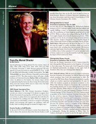 Alumni From the Alumni Director - Cincinnati Christian University