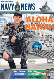 Edition 5513, July 19, 2012 - Department of Defence