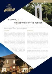 our history - Alphen Hotel