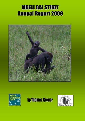 MBELI BAI STUDY ANNUAL REPORT 2008