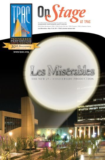Les Misérables - Tennessee Performing Arts Center