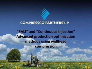 """BAIS"" and ""Continuous Injection"" Advanced production ... - ALRDC"