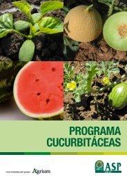 PROGRAMA CUCURBITÁCEAS - ASP Chile