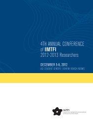 Conference program and bios - School of Social Sciences