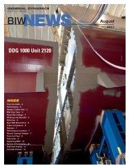 DDG 1000 Unit 2120 - Bath Iron Works