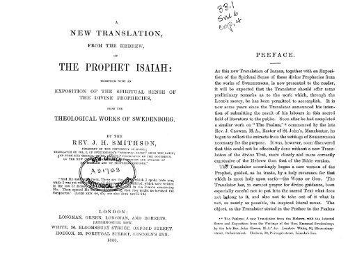 Download The Prophet Isaiah PDF - Bayside Swedenborgian Church