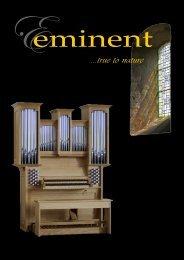 ...true to nature - Eminent Orgelbouw