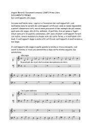 1. Primo libro - Tonsatz