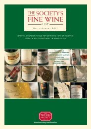 FINE WINE - The Wine Society