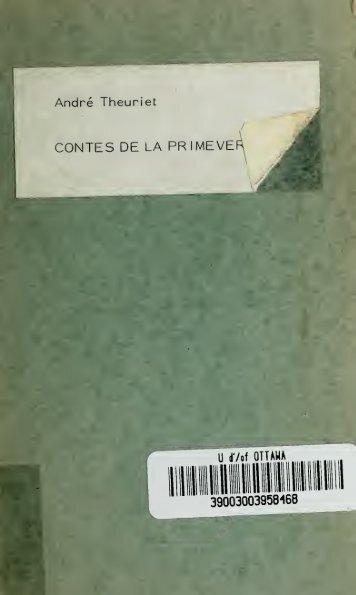 Contes de la primevère ..