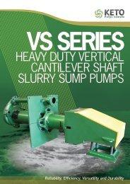 Heavy Duty vertical cantilever SHaft Slurry Sump pumpS