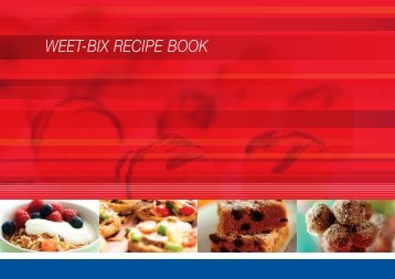 weet-bix recipe book