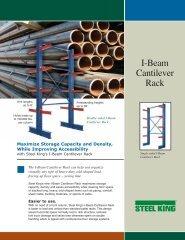 I-Beam Cantilever Rack