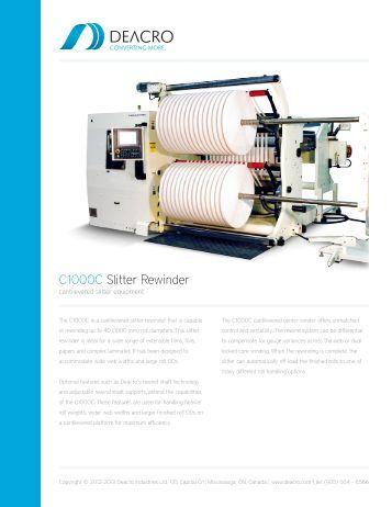 Get Brochure - Deacro Industries Ltd