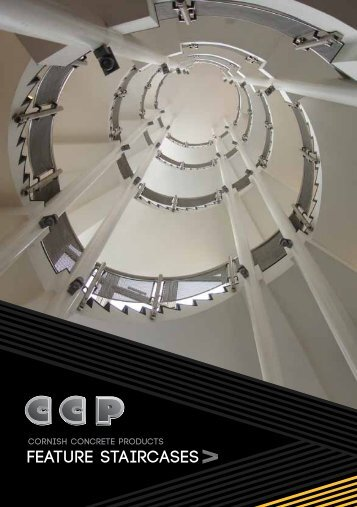 Feature Staircases Brochure - Cornish Concrete Products