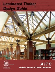 Laminated Timber Design Guide - American Institute of Timber ...