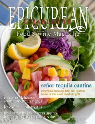señor tequila cantina - Epicurean Charlotte Food & Wine Magazine