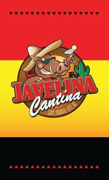 MENU Here. - Javelina Cantina
