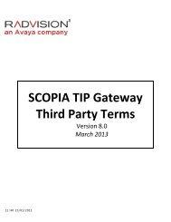 Scopia PathFinder Datasheet - Radvision