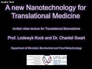 A new Nanotechnology for Translational Medicine