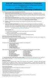 Conference Summary - Uwi.edu